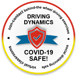 Driving Dynamics Covid Safe Badge