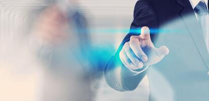 businessman hand pressing button with contact on virtual screens as concept.jpeg