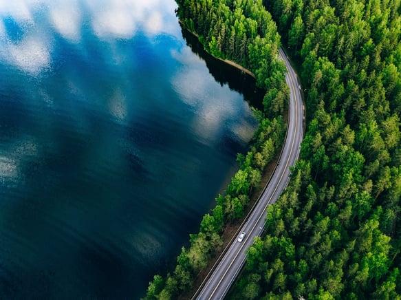 bigstock-Aerial-View-Of-Road-Between-Gr-307404250