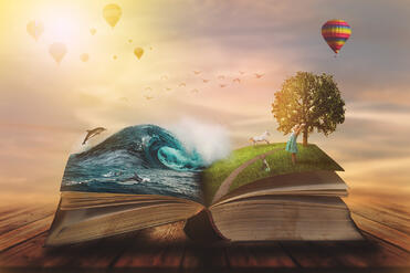 Dreamy story book image